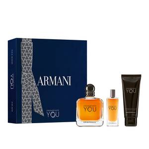 Emporio Armani Stronger With You Eau De Toilette 100 ml Geschenkset