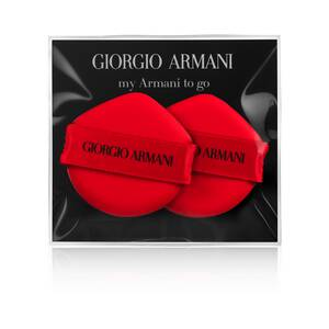Mein Armani To Go Cushion Foundation Sponge Duo